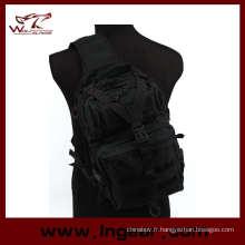 Tactical Gear Utility Sling Bag Sac à dos pour sac à bandoulière taille L