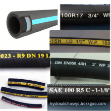 Steel Wire Braided Hydraulic Hose/ High Pressure Hose/ SAE 100 R1at/DIN En853 1sn