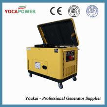 8kw Generador Silencioso 10kVA Generador Diesel Portátil