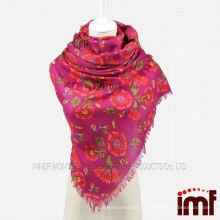 Красный шарф шарфа оптом шарф цветов