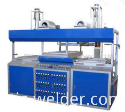 double wroking station forming machine