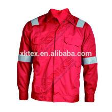 100%хлопок огнезащитная сварки куртка