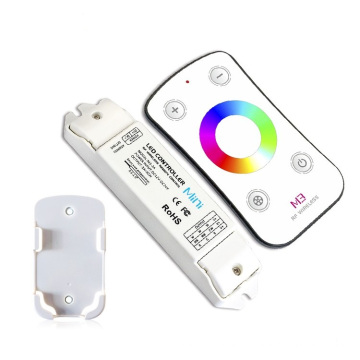 Mini RGB LED Controller with remote control 433.92 MHz