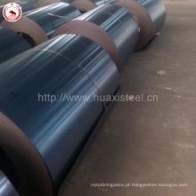 SPCC / DC01 / Q195 / ST12 Aço laminado a frio recozido preto para fabricação de tubos