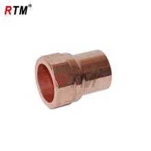 female adapter threaded copper pipe fittings
