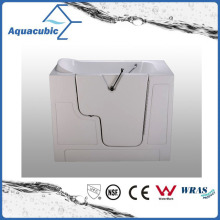 Acrylic Walk-in Wheelchair Safe Bathtub for Disabled (AB-2852GW)