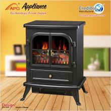 APG Decorative Standing electric fireplace