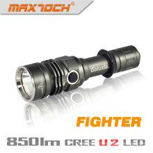 Maxtoch Kämpfer wieder aufladbare Hochleistungs-militärischen Taschenlampe