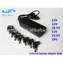 Adaptateur pour ordinateur portable universel universel 65W