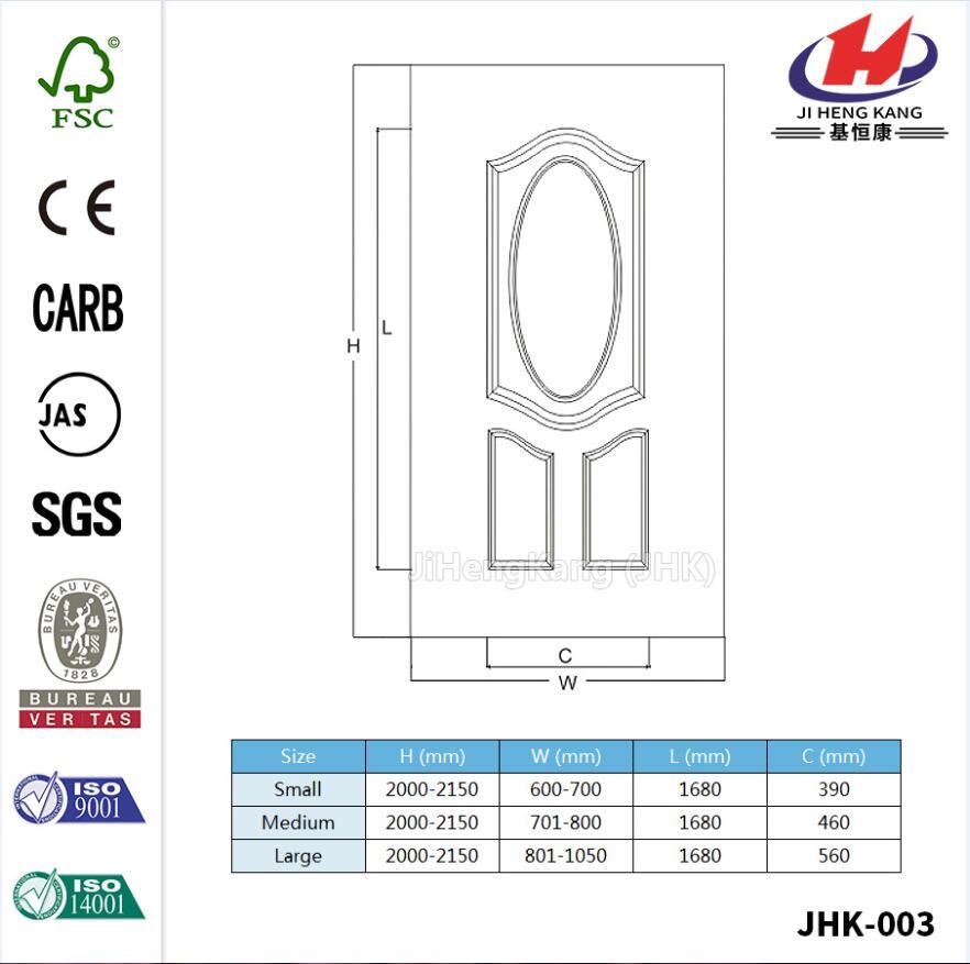 Low Price 3.4mm Deesha Oak Veneer Door Panel