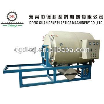 Plástico auxiliar máquina de quemadura de pantalla hidráulica