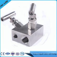 2 valve manifold, block & bleed valve