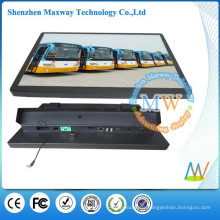 network Android 4.2 19 inch bus lcd advertising player