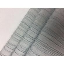 Rayon Poliéster Spandex Stripe Crepe Tecido sólido