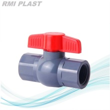 PVC Octagon Ball Valve Thread End NPT