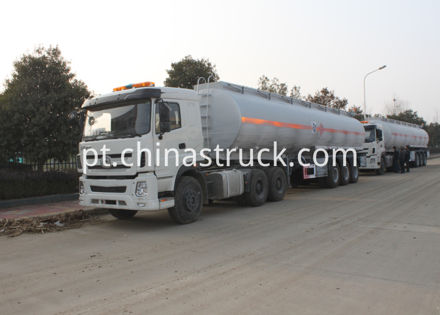 3 axle 40Ton ADR fuel tanker for Africa