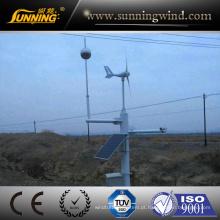 300 W Mini Sistema de Monitoramento de Energia Eólica Gerador de Energia Bom Preço