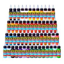54 Color 1OZ Complete Set Tattoo Ink Pigment kit cheap tattoo ink kits/color king tattoo ink/free tattoo ink