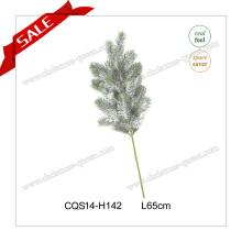 Las nuevas flores decorativas del árbol de la Navidad flor verdadera del tacto para la venta H35-H110cm