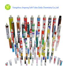 Adesivo de bisnagas de alumínio tubos tubos de embalagem
