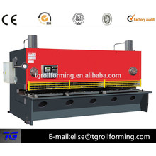 hydraulic swing beam nc shearing machine with good price best supplier in China