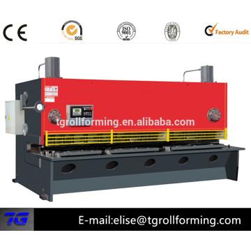 Hydraulische Schwenkbalken nc Schere Maschine mit gutem Preis besten Lieferanten in China