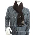 Own Factory Design Reversible 100% écharpe écharpe en soie pour homme