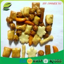 Mix match crackers cracker alto teor de proteína