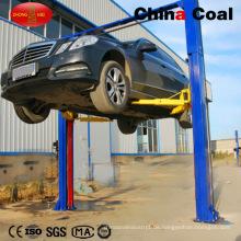 2 Pfosten-hydraulischer Boden-Auto-Aufzug-Preis