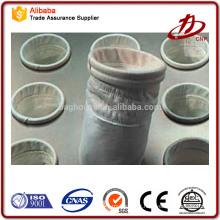 Sac de filtre industriel PP / PE / nylon en fibre de verre avec SGS ISO CE CERTIFICATE