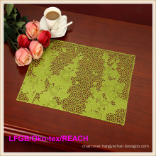 PVC Pressed and Cutout Placemat Bar Mat/Coffee Mat