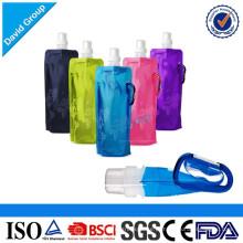 Garrafa de água potável dobrável Eco-Amigável chinesa do fornecedor novo dos produtos
