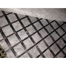 Grille d'asphalte collant avec du tissu non tissé