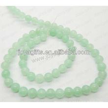 Granos redondos del jade de la uva / grado 4 mm / 6mm / 8mm / 10 / mm / 12mm
