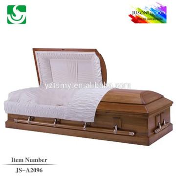 Cercueils de matériaux traditionnels prime qualité raw en gros
