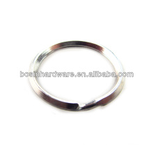 Fashion High Quality Metal Triangle Wire Split Ring