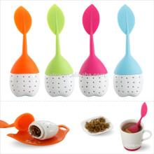 coladores de té al por mayor con silicona