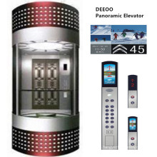 Deeoo Full View Sightseeing Glass Lift Elevator