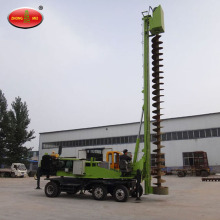 Wheel Hydraulic Spiral Screw Pile Driving Machine