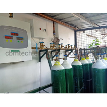 Hosptial Automatic Oxygen Manifold Systems for 12 Oxygen Cylinders