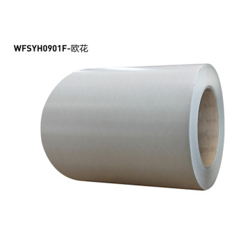 Plain color film laminated steel plate