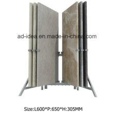 Прочный крыла металл Дисплей стенд/ Дисплей для кварца Exhinition плитка