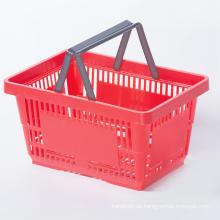Einkaufskörbe aus Kunststoff mit doppeltem Griff