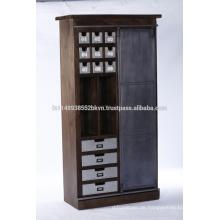 Industrial Wooden Schlafzimmer Möbel Garderobe Schrank