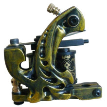PRO 10 Wraps Coil Iron Shader Tattoo Machine Gun Kits Supplies (Y-12)