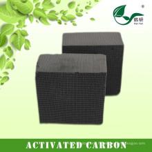 Saling charbon à base de charbon actif Honeycomb de fournisseur de porcelaine