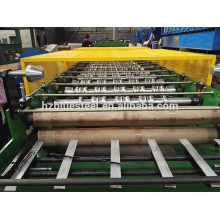 Farbe beschichtet Stahl Dachziegel Roll Forming Machine Schritt Dachdecker Fliesen Forming Making Machine