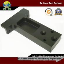 Motorsport-Gebrauch vorderer vertikaler CNC-Aluminium zerteilt glänzenden anodisierten Cnc-Prägeherstellungsfall