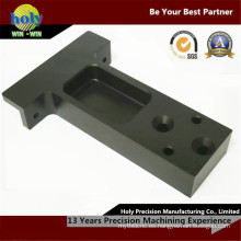Caso de mecanizado de fresado anodizado brillante del CNC de las piezas de aluminio del CNC del uso frontal del automóvil