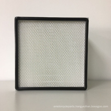 Mini-Pleat HEPA Filter for Ventilation and Air Conditioning System, Cleaning Room